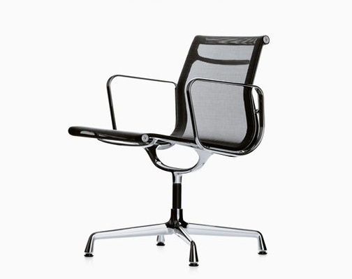 Silla aluminium group ea 108 de vitra by charles ray for Vitra outlet